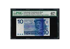 Netherlands 10 gulden 1968 UNC 67 EPQ (Hals)