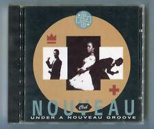 Club noveau CD Under a nouveau Groove © 1989 German 11-TRACK Hip Hop Funk Soul