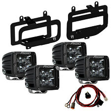 Rigid LED Fog Light Kit for 15-17 Ford F150 Includes Midnight Edition Pro 46555