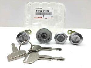 Genuine Toyota Land Cruiser Fj40 Fj43 Fj45 OEM Ignition Cylinder Lock W/Keys Set