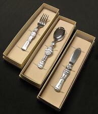 Rare Muppets Sesame Street Gorham Silverware Youth Set Spoon Fork Knife Flatware