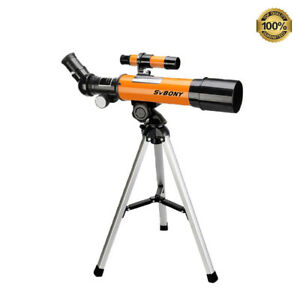 Telescope 70mm Aperture 50360mm AZ Mount Astronomical Refracting For Kids Gift