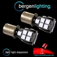 382 1156 BA15S 245 207 P21W XENON ROSSO 18 SMD LED posteriore nebbia LAMPADINE rf201201