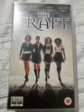 Vhs The Craft (15) (1996) Columbia Tristar Welcome To The Witching Hour. Pal