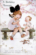 Mabel Lucie Attwell. Now Cupid You Go Right Away # 743-3 by Valentine's. Archery