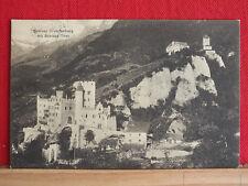 AK - Schloss Brunnenburg mit Schloss Tirol - Dorf Tirol - gel ca 1910  bei Meran