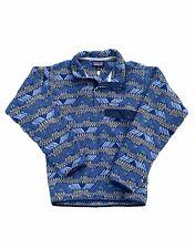 Vintage Patagonia Synchilla T Snap Pullover Blue Tribal Aztec Mens Size XXS