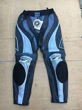 "RICHA Evo Ladies Leather Motorbike / Motorcycle Trousers UK 18 (36"" waist) (LBB)"