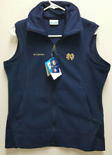 New Columbia Large Officially Licensed Collegiate Vest Notre Dame Fighting Irish