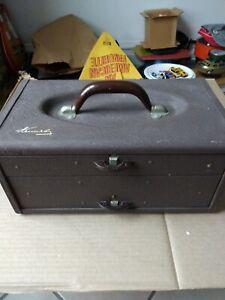 Vtg KENNEDY Tackle Box...Kennedy TC-14 2-Drawer Tack Box...RARE Kennedy USA Made