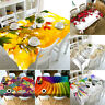 3D Flowers Tablecloth Table Cover Cloth Home decoration WALLPAPER dust proof NEW