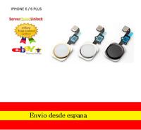 Boton Home Cable Flex Para iphone 6 4.7 y 6 Plus 5.5 Botón Menu Inicio