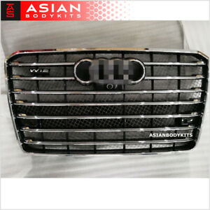for AUDI Audi A8 (D4) W12 style FRONT GRILLE 2015 - 2018