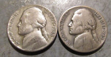 1943P and 1943S Silver War Nickels