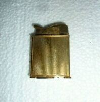 Vintage Goldtone Cigarette Lighter for Restoration   S-23