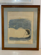 Vintage 1968 Ben Shahn Lithograph Print To Childhood Illnesses LE of 950