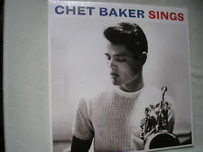 CHET BAKER Sings UK LP 2016 180g  new mint sealed blue vinyl