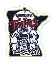 Minnesota Twins Alternate Embroidered Logo Patch White Trim