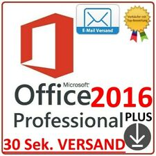 Microsoft Office 2016 Pro Professional Plus✔️Vollversion✔️Key✔️32/64 Bit✔️Lizenz