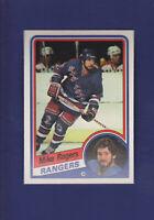 Mike Rogers 1984-85 O-PEE-CHEE OPC Hockey #152 (MINT) New York Rangers