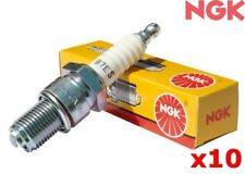 NGK Spark Plug FOR Volvo V70 99-2000 2.4 (LV) Wagon BKR6ETUC x10