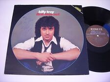 SIGNED Billy Troy First Time Out 1981 Stereo LP VG++