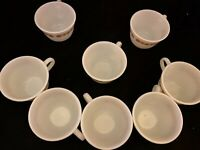 Corelle Livingware By Corning USA Butterfly Gold Pyrex Coffee/Tea Cups 8 Total