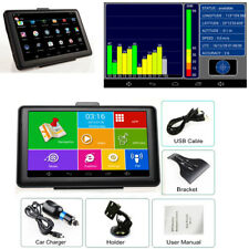 Car Capacitive Touch Screen GPS Navigation Bluetooth AV-In WIFI MP3 MP4 Android