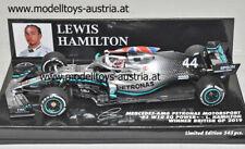 Mercedes W10 EQ Power+ 2019 Lewis HAMILTON Sieger England GP 1:43 Minichamps