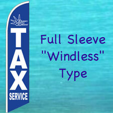 LIBERTY TAX SERVICE WINDLESS BANNER FLAG Tall Advertising Sign Feather Swooper