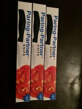 """Paring Knife by Paring-Partner Surgical Stainless Steel 6"""" NEW Lot Of 3"""