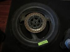 2006 Yamaha yzf 600  yzf600 r6 rear rim wheel tire 170/60zr17