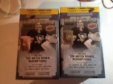 2 BOXES LOT OF. 2013/14 UPPER DECK ARTIFACTS BOX FACT SEALD.