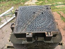 Heavy Duty Cast Iron Road Manhole Cover And Frame Reclaimed.