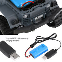RC Model Car Upgrade Accessory 7.4V 500mAh Rechargeable Lipo Battery w/USB Cable