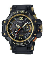 Mens Casio G-Shock Gravitymaster Black & Gold Watch GPW-1000GB-1AER
