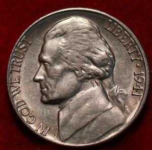 Uncirculated 1941-S San Francisco Mint Jefferson Nickel