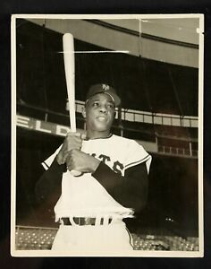1954 Willie Mays New York Giants Original Photograph From Brown Brothers