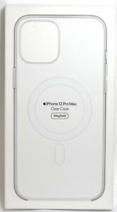 """Apple - iPhone 12 Pro Max (6.7"""") Clear Case with MagSafe - Clear"""