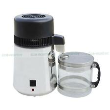 220V 4L Water Distiller 304 S/Steel Water Purifier Filter Glass Jar 750W for Lab