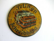 RARE ORIGINAL VINTAGE GERMAN ADVERTISING PELIKAN PAPER WEIGHT 1930's SCHREIBBAND