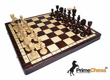 Brand New Hand Crafted ACE Wooden Chess Set 41cm x 41cm -> CLASSIC & PERFECTION