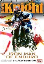 David Knight - Iron Man of Enduro (New DVD) Motorcycle Sport