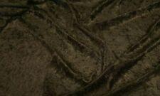Brown schiacciata Velluto / velour Tessuto 150cm di larghezza