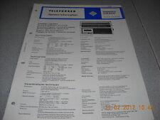 TELEFUNKEN Kofferradio bajazzo CR900 Service Manual
