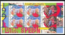Netherlands 1991 Welfare Fund/Doll/Robot/Bicycle/Bikes/Toys/Games 6v m/s n39919
