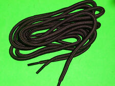SHOELACES 140CM HIKER DARK BROWN  CORD LACES ** IN AUSTRALIA *** SHOE LACES