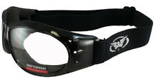 GLOBAL ELIMINATOR SUN GLASSES JET SKI  GOGGLES  WITH FOAM  w/ UV400 Clear Lens