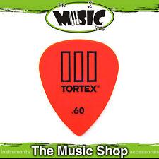 10 x Jim Dunlop Tortex T3 .60mm Orange Guitar Picks - TIII Plectrums - 60TOT3