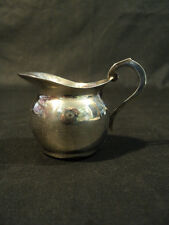 WONDERFUL SMALL INDIVIDUAL STERLING SILVER CREAM POT, AUSTRIA, 46 GRAMS